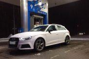 Отзыв о Audi A3 Sportback 2.0 (190 л.с.) S tronic quattro 2016 г.в.