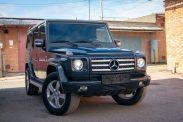 Отзыв о Mercedes-Benz G-Class 4.0 (250 л.с.) 4WD AT 2001 г.в.