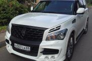 Отзыв о Infiniti QX80 5.6 (405 л.с.) 4WD AT 2013 г.в.