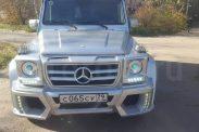 Отзыв о Мерседес Гелендваген 5.0 (296 л.с.) 4WD AT 2005 г.в.
